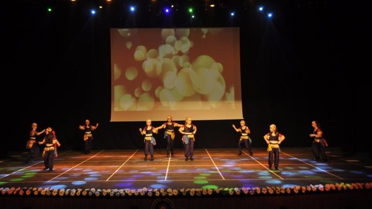 GKV'liler Anadolu'yu dansın renkleriyle sahneye taşıdı