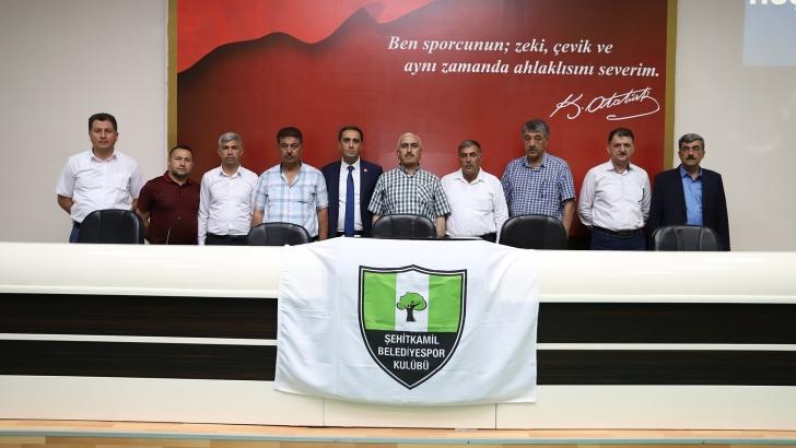 Şehitkamil Belediyespor'da genel kurul yapıldı