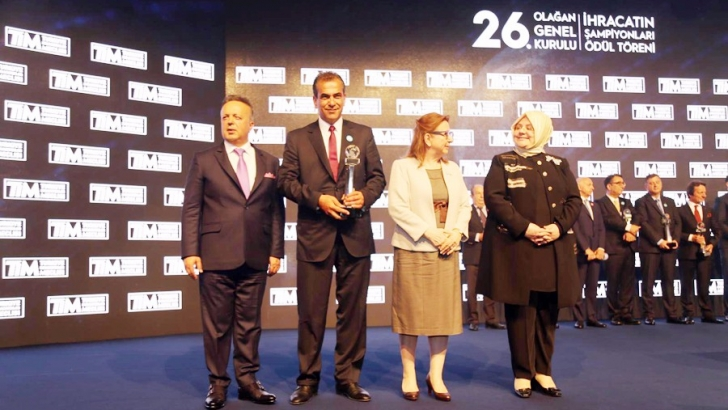 Erdemoğlu Holding'e ödül