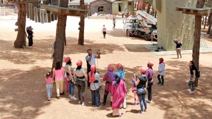 Gençlik kampı öğretmenleri ağırlıyor