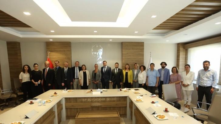 Gaziantep bölgesel ısıtma teknik çalışmalar ele alındı