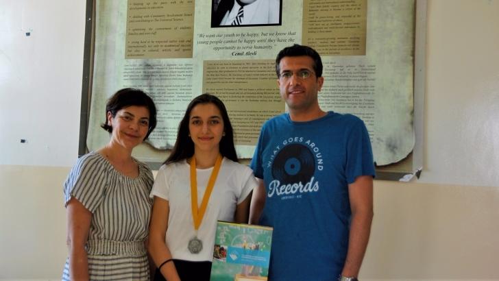 GKV'li öğrenciye matematik ödülü