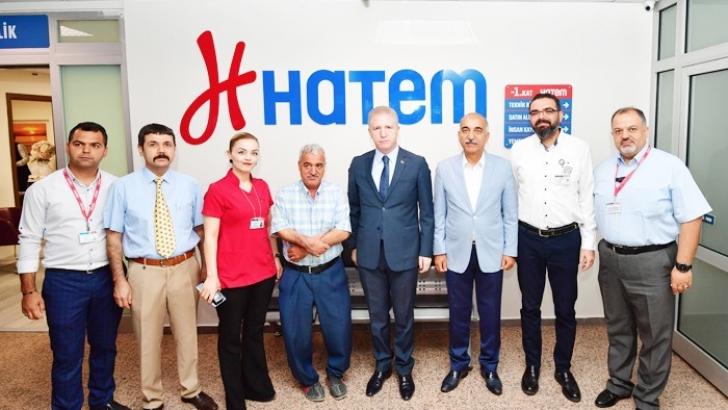 Vali Gül'den özel hastanelere ziyaret