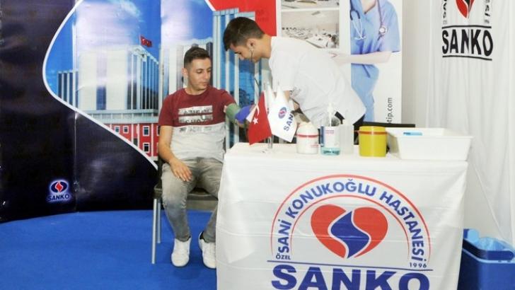 SANKO ÜNİVERSİTESİ HASTANESİ, GAPSHOES'TA STANT AÇTI