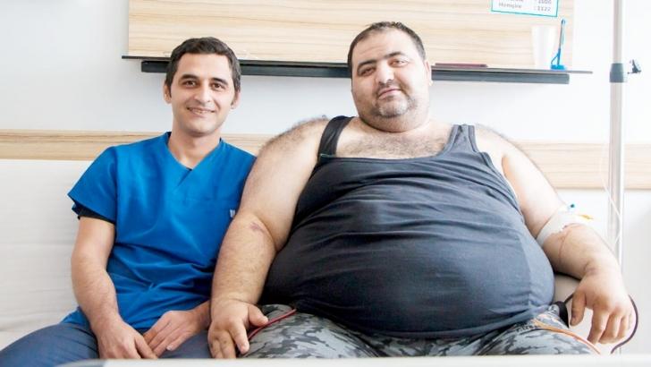 225 kiloluk hastaya Anka'da obezite cerrahisi