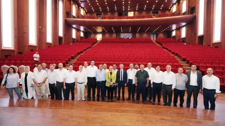 Şahinbey'in Meclis üyeleri hizmetleri gezdi
