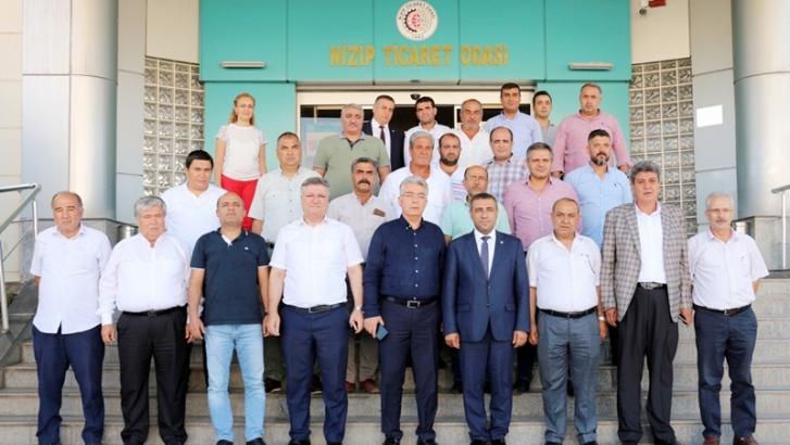 Taşdoğan'dan NTO'ya ziyaret