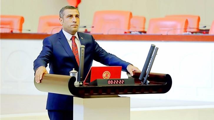 """Taşdoğan'dan 'karasu"""" atığıyla ile ilgili soru önergesi"""