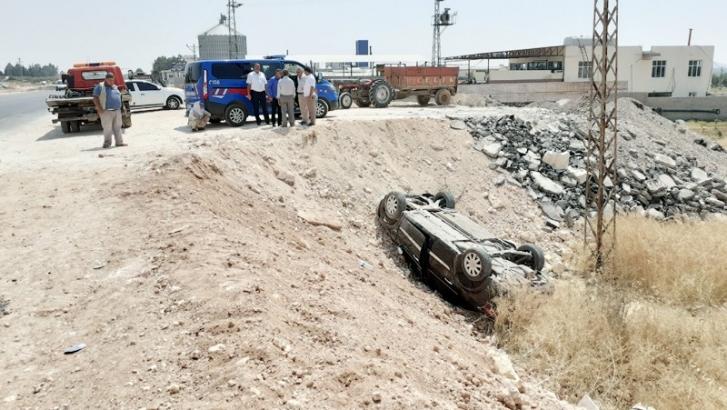 Otomobil şarampole yuvarlandı: 8 yaralı