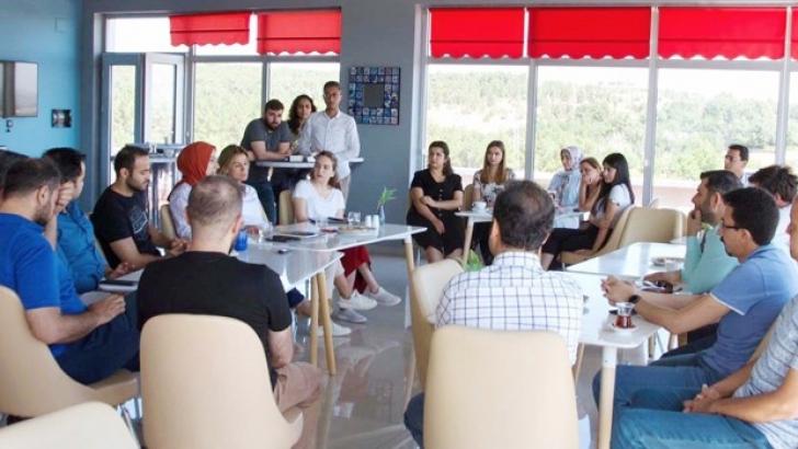 Turkcell Arıkovanı ekibi Gaziantep Teknopark firmaları ile buluştu