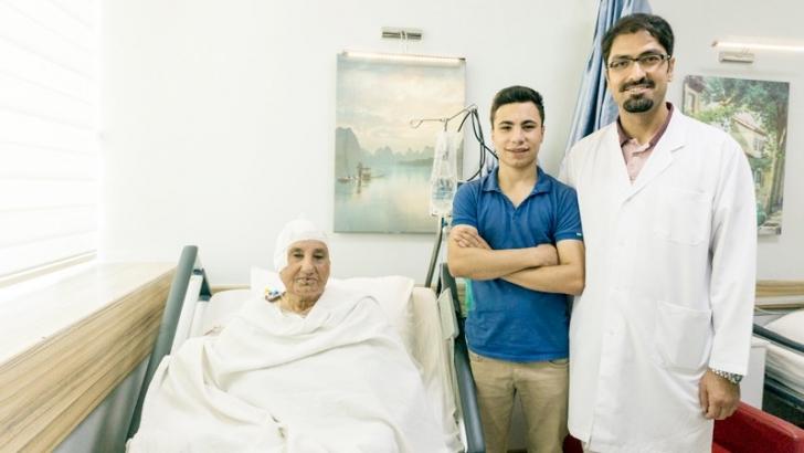 Beynindeki tümörden Anka'da kurtuldu