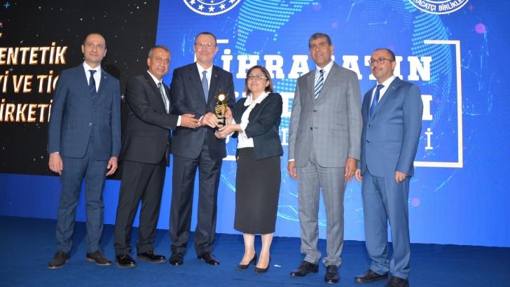 Gülsan Holding'e GAİB'ten ödül