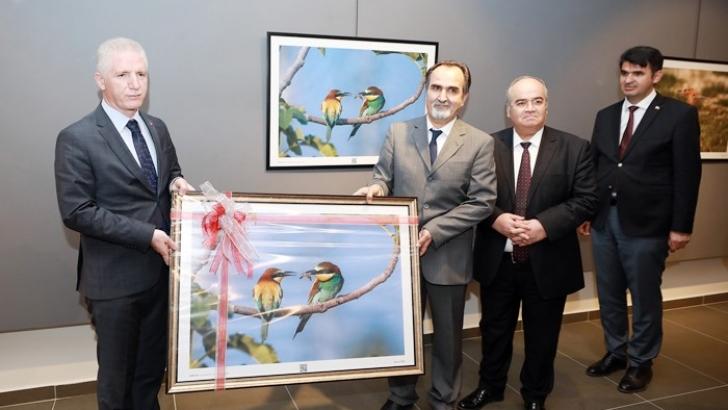 Gaziantep'in kuşları ŞSM'de görücüye çıktı