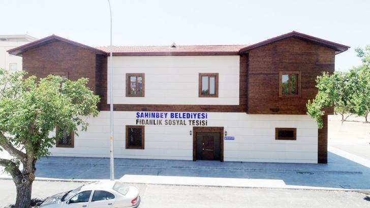 Fidanlık Mahallesi'ne sosyal tesis