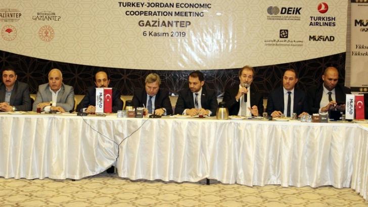 Türkiye-Ürdün Ekonomik İşbirliği Toplantısı yapıldı
