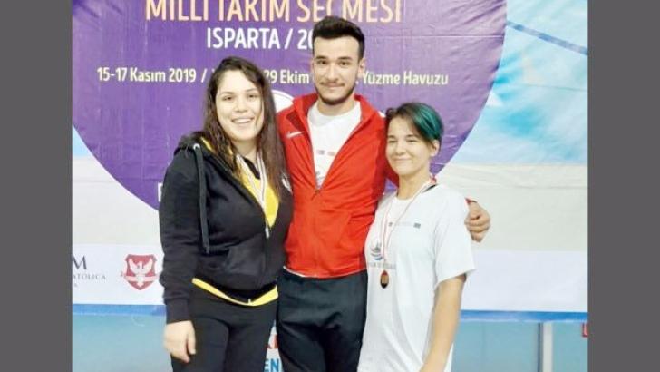 HKÜ'lü öğrenci Türkiye şampiyonu oldu