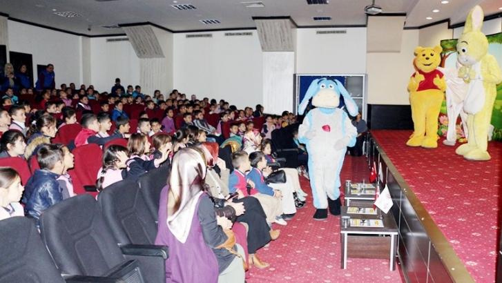 NTO'da Winnie The Pooh gösterisi yapıldı