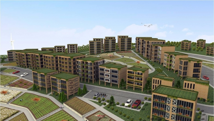 Gaziantep Ekolojik Kent projesi markalaştı