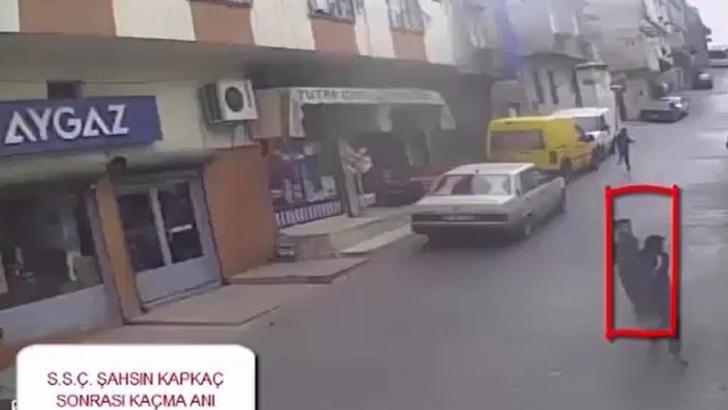 Kapkaç anı kamerada