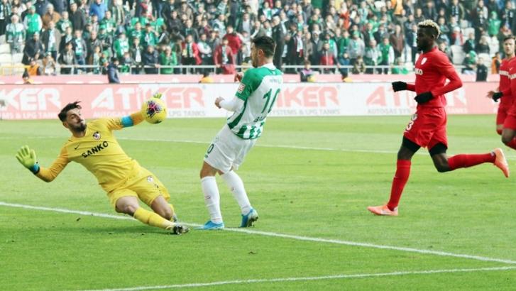 Gaziantep FK ilk kez gol yemedi