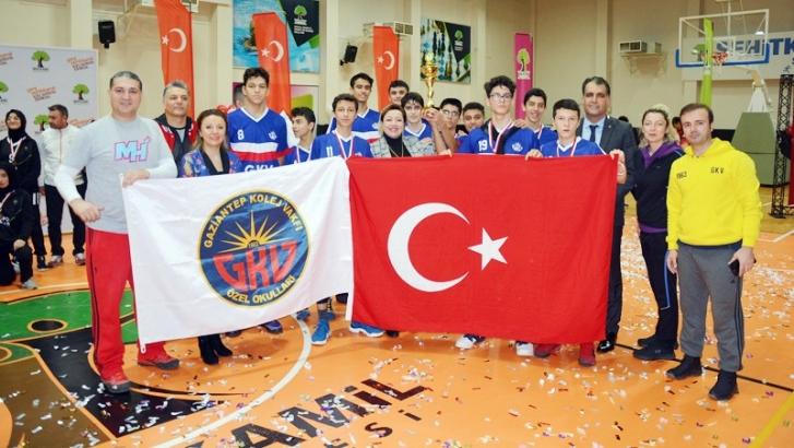 GKV Kurtuluş Kupasını kazandı