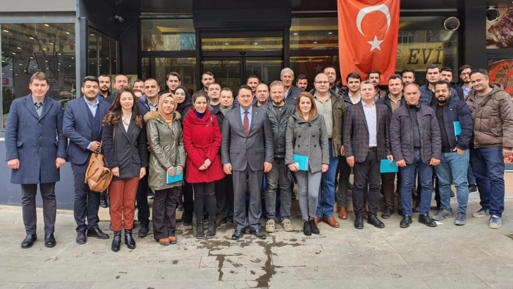 Çeliktürk'e Kilis desteği