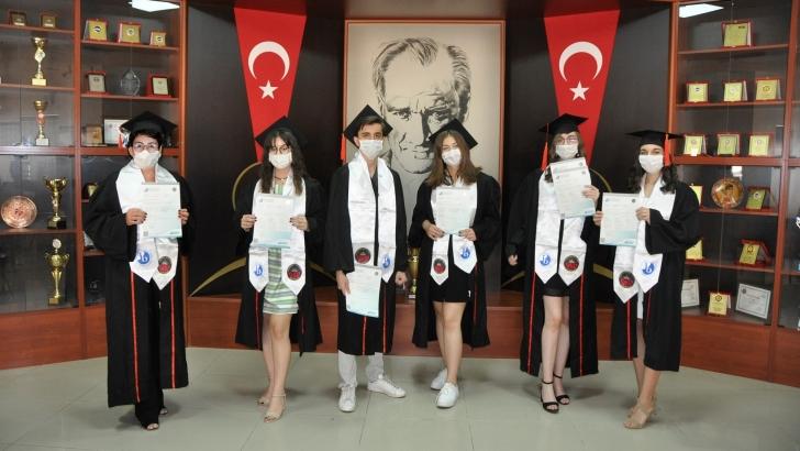 GKV Cemil Alevli Koleji öğrencilerinin başarısı