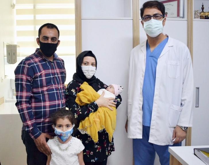 ANKA Hastanesi'nde hayata tutundu