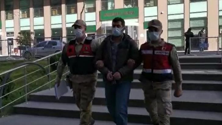 PKK'lı terörist yol kontrolünde yakalandı