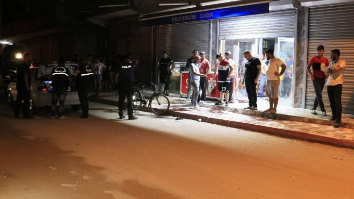 Bakkal önünde silahlı saldırı: 1 ölü, 1 yaralı