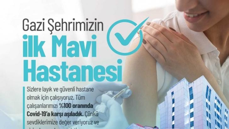 Medical Park Gaziantep ilk mavi hastane oldu