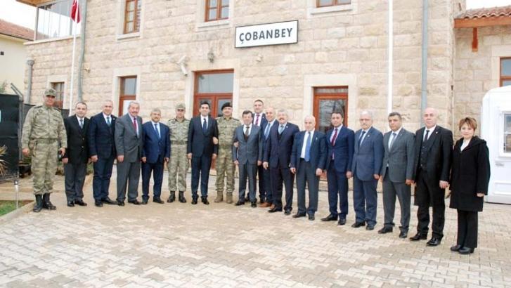GTO yönetimi, sınırdaki askeri birliği ziyaret etti
