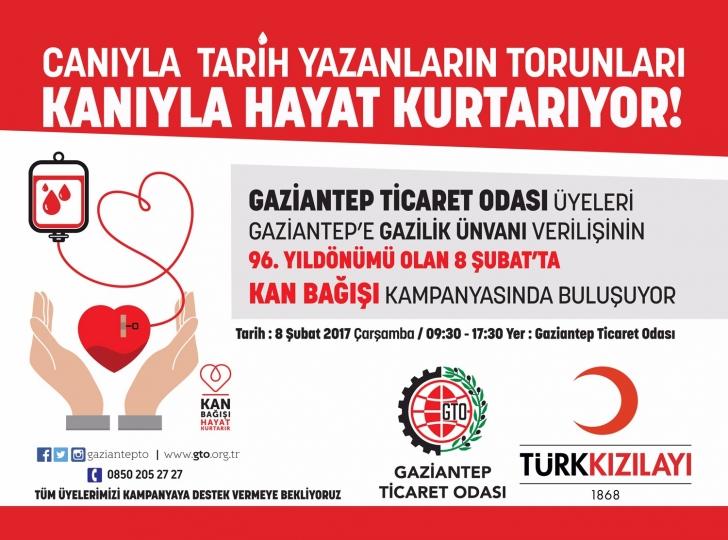 GTO'dan kan bağışı kampanyası