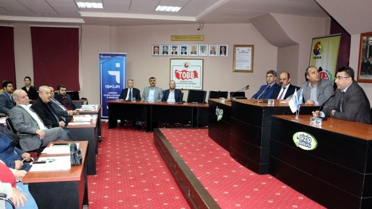 NTO'da istihdam destekleri bilgilendirme toplantısı