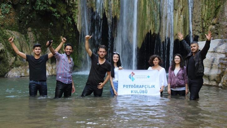 HKÜ fotoğrafçılık kulübü yeni kadrajlar için keşifte