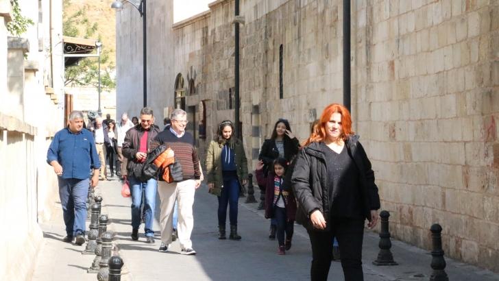 Gaziantep hafta sonu turist akınına uğradı