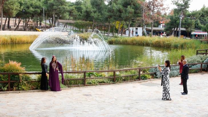 Dülük Tabiat Parkı'nda görsel şölen