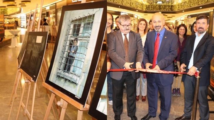 Gazeteci Atalar'ın Antep evleri sergisi görücüye çıktı