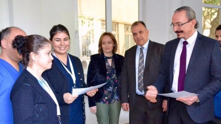 Ersin Arslan'da Yoğun Bakım Hemşiresi eğitimi