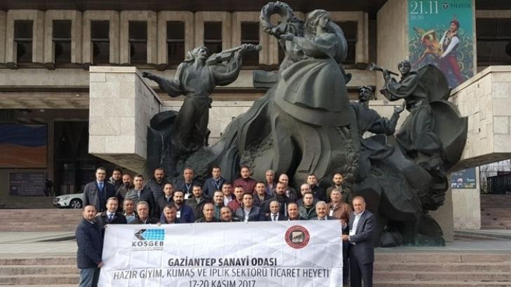GSO, Ticaret Heyeti Ukrayna'da