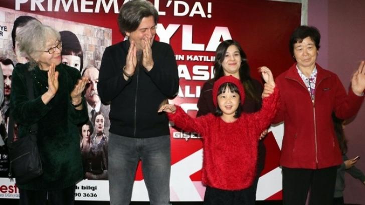 Oscar yolcusu 'Ayla' filmi ekibi Gaziantep'te