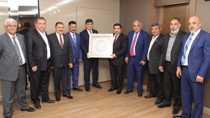 ASKF heyetinden Başkan Fadıloğlu'na teşekkür ziyareti