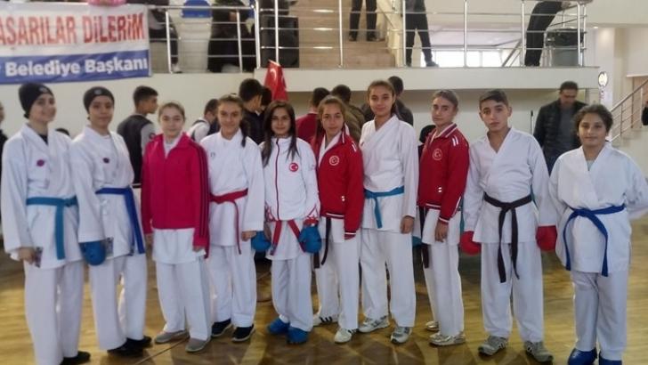 Şahinbey'de Karate Turnuvası