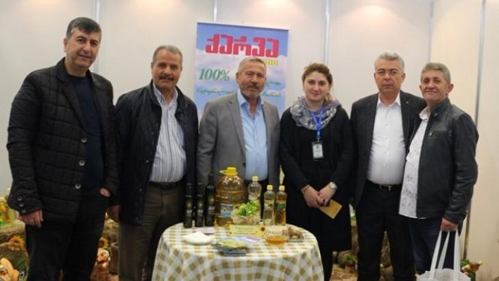 Nizipli iş adamları Tiflis'te