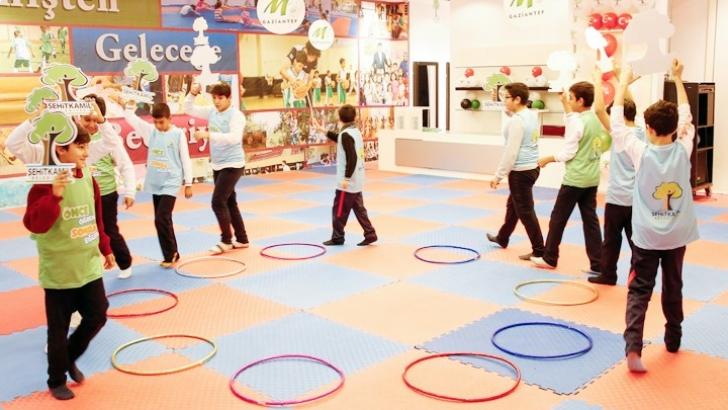 Öğrenciler geleneksel oyunlarla buluştu