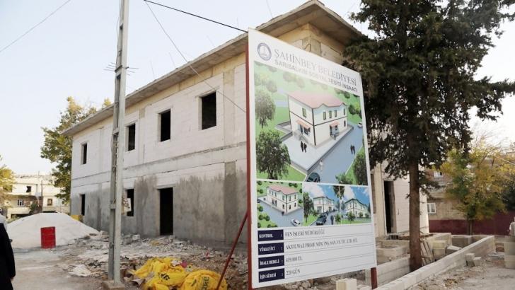 Sarısalkım'a sosyal tesis