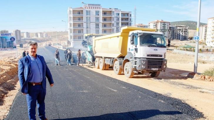Şehitkamil'de asfalt çalışmaları aralıksız sürüyor