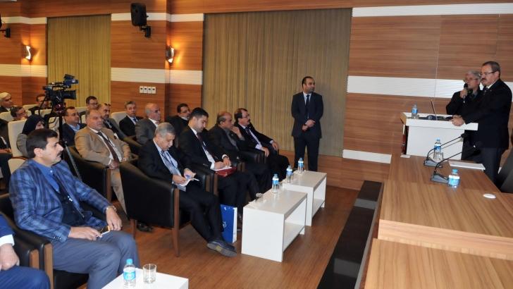 Iraklı iş adamları ve Gaziantepli sanayiciler buluştu