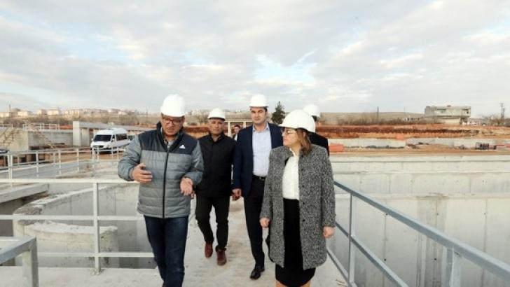 Büyükşehir atık su arıtma tesisinin kapasitesi artıyor