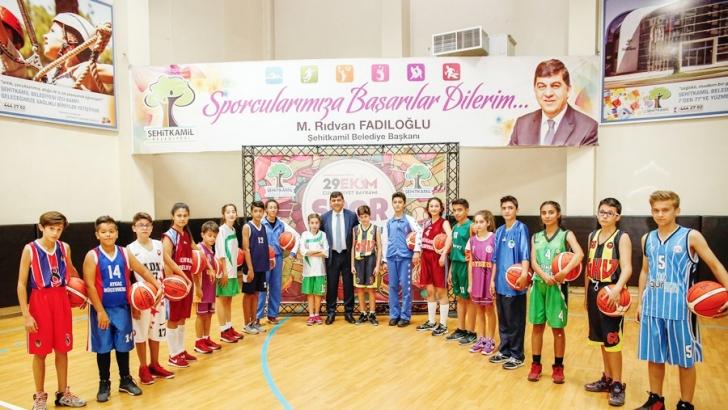 Şehitkamil'den okul sporları müsabakalarına destek
